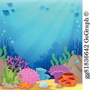 Aquatic Habitat Clip Art.