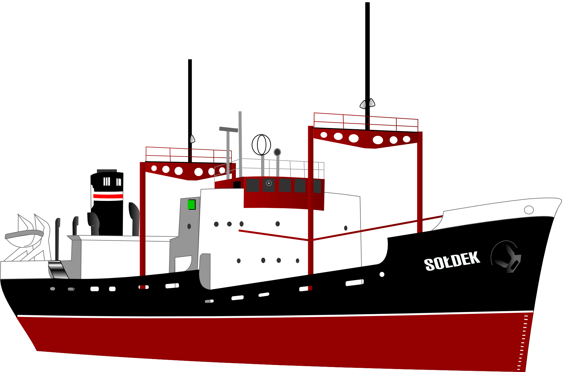 Ocean shipping, container transport,sea containers vector.