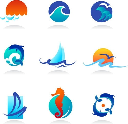 Ocean wave silhouette free vector download (8,742 Free vector) for.