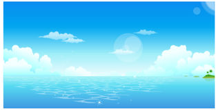 Ocean view clipart.