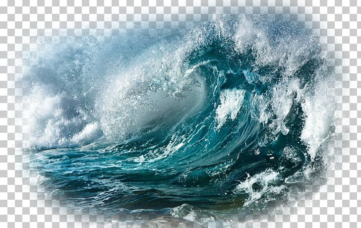 Ocean Wind Wave Sea Storm Desktop PNG, Clipart, Computer.
