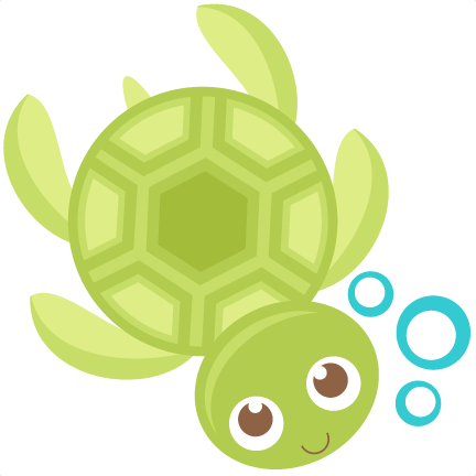 Sea Turtle SVG scrapbook cut file cute clipart files for.