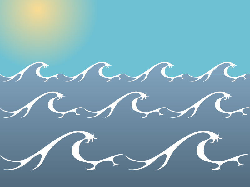 Free ocean water clipart background.