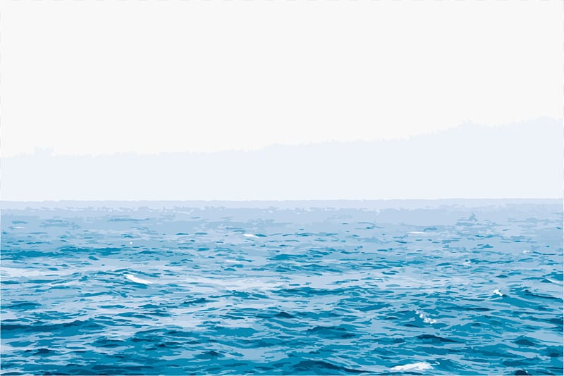 Ocean Seawater Wind wave, ocean transparent background PNG.