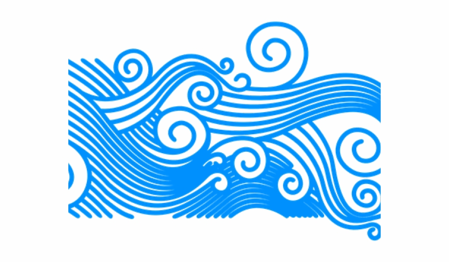 Wave Clipart Curly.