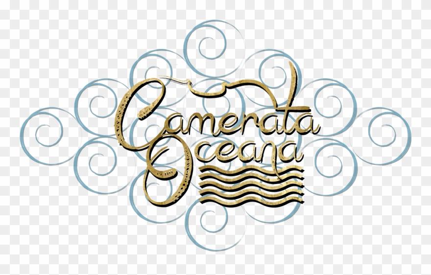 Camerata Oceana Waves Logo Clipart (#3486535).