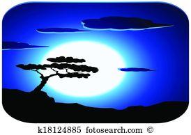 Oceanfront Clipart Vector Graphics. 17 oceanfront EPS clip art.