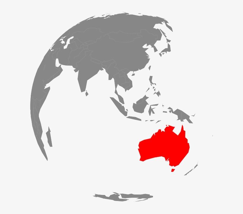 Australia, Tansania, Globe, Oceania, Earth, Map.