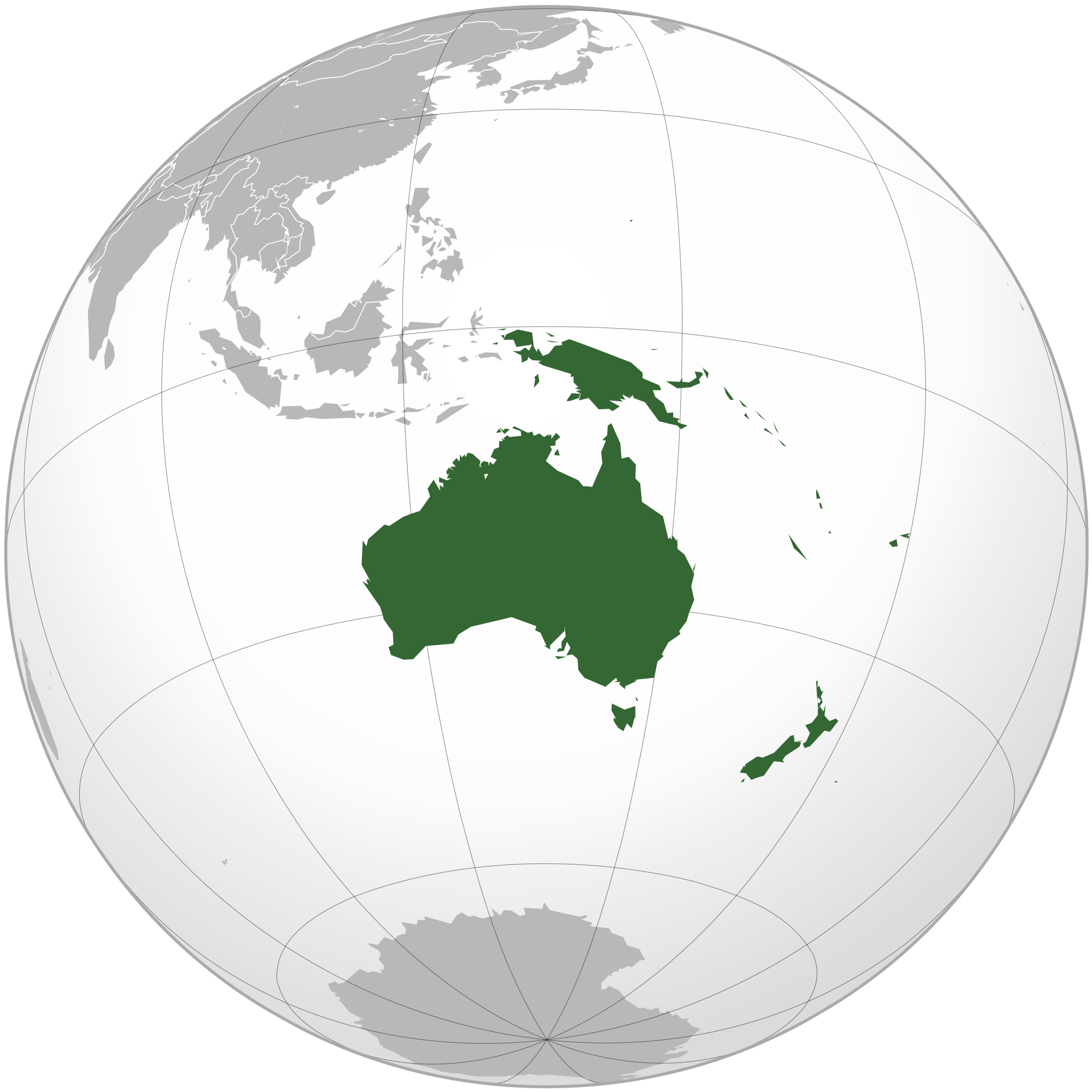 List of sovereign states and dependent territories in.