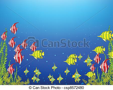 Simple Undersea Clipart Clipground