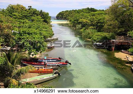 Stock Photography of Ocho Rios, Jamaica x14966291.