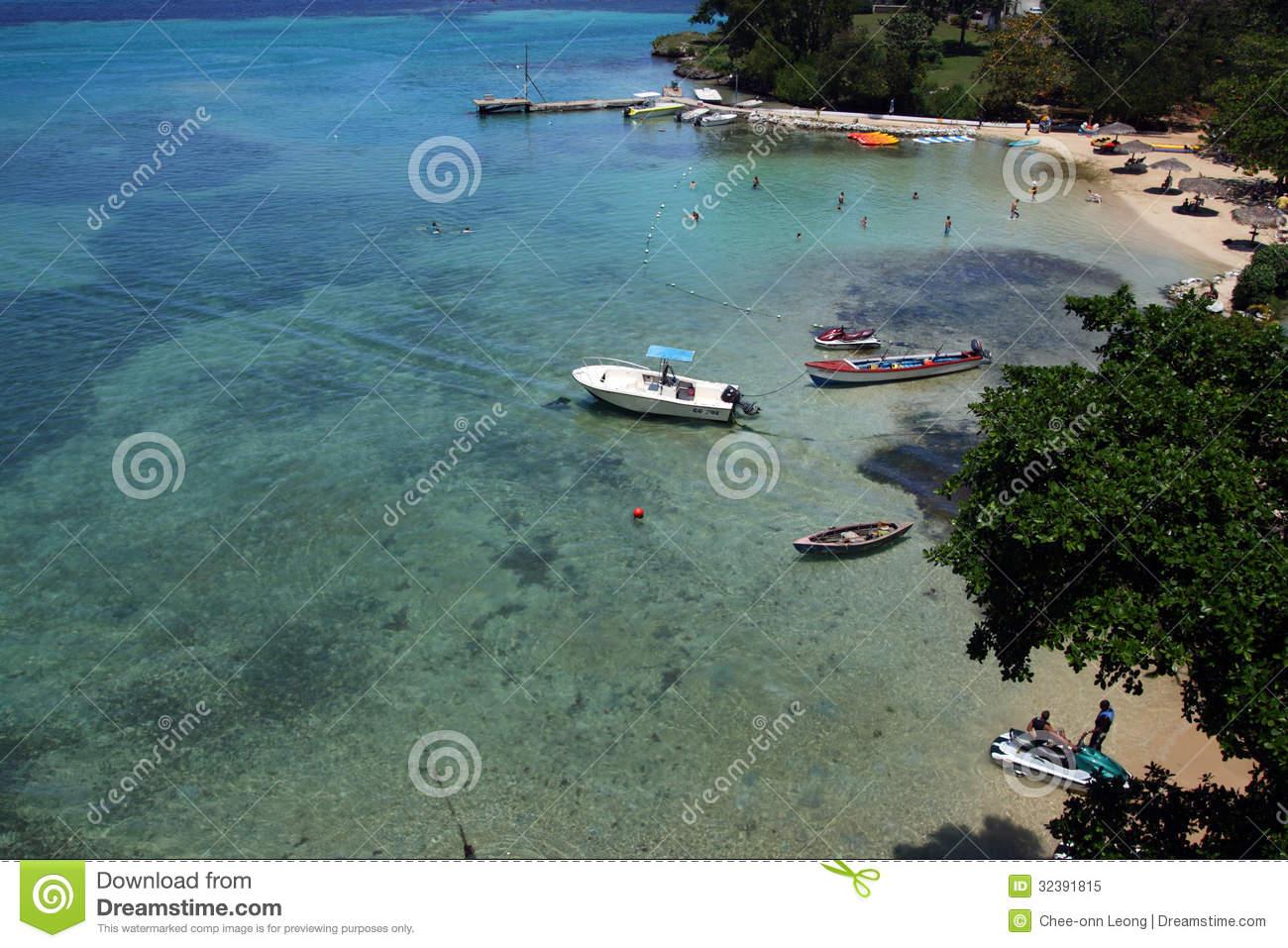 Ocho Rios, Jamaica Royalty Free Stock Photo.