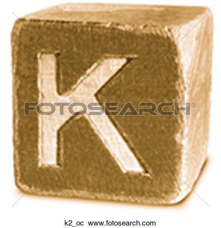 Stock Photography of Block Ochre K2 k2_oc.
