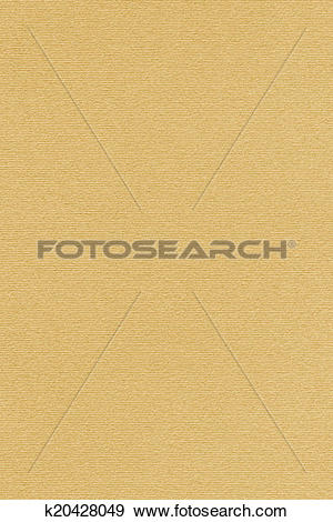 Stock Photograph of Ochre Yellow Pastel Paper Texture k20428049.