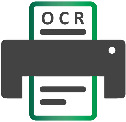 How does optical character recognition (OCR) work for.