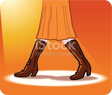 Girl Fashion Ocre stock vector art 93821910.