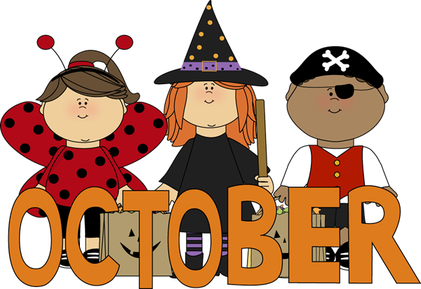 October Clip Art.