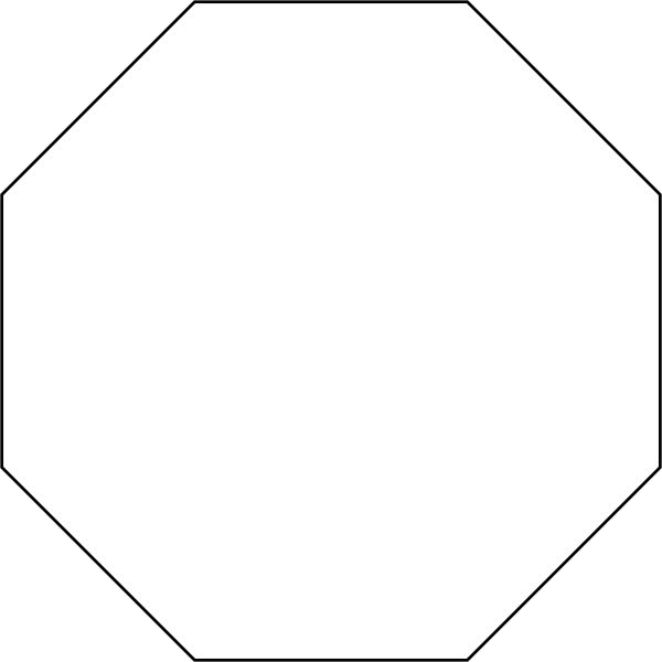 Octagon Free Clipart.