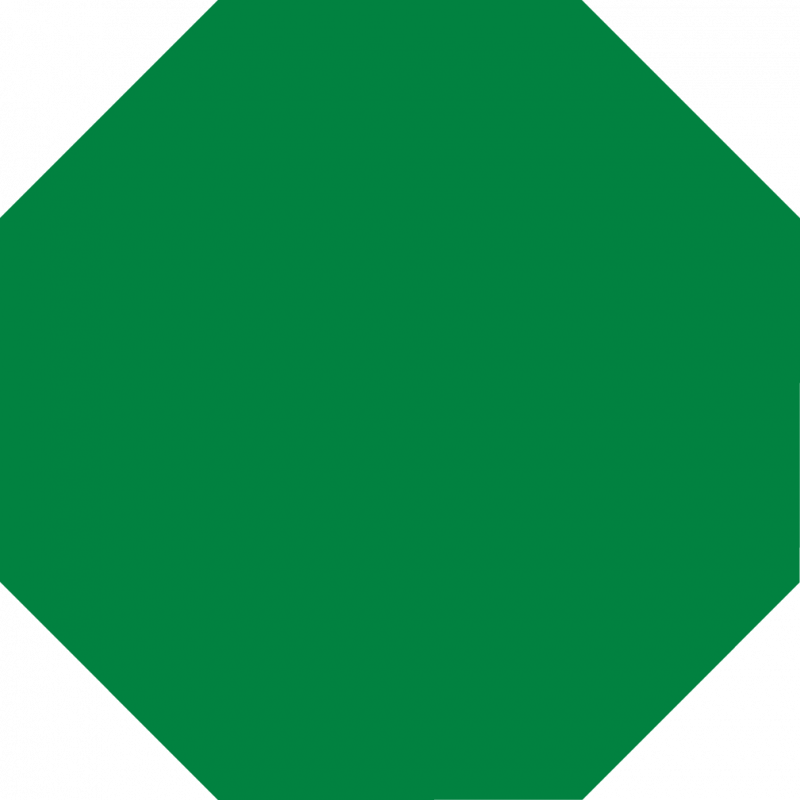 Clipart green stop sign.