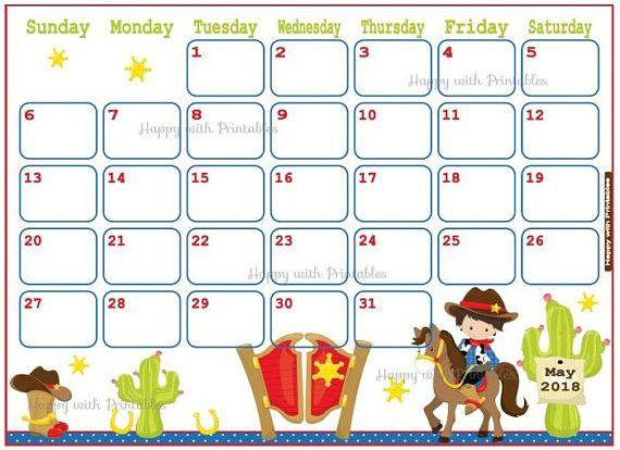 Calendar October 2018.