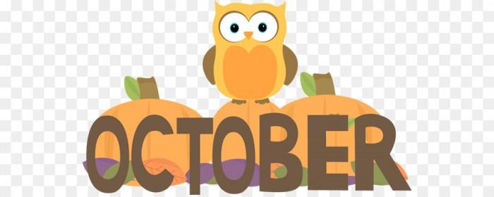 October Clip Art December Calendar Cliparts October Owl Png.