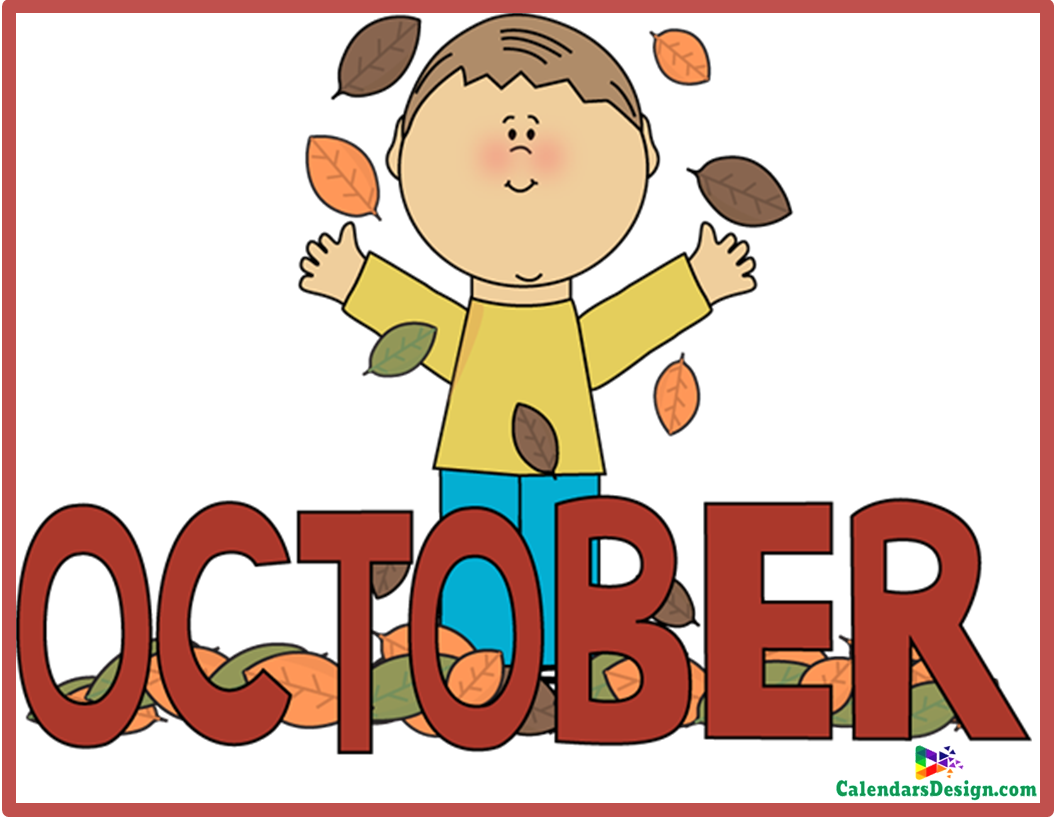 October Clipart Free.