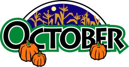 Month of october clipart free clipart images image.