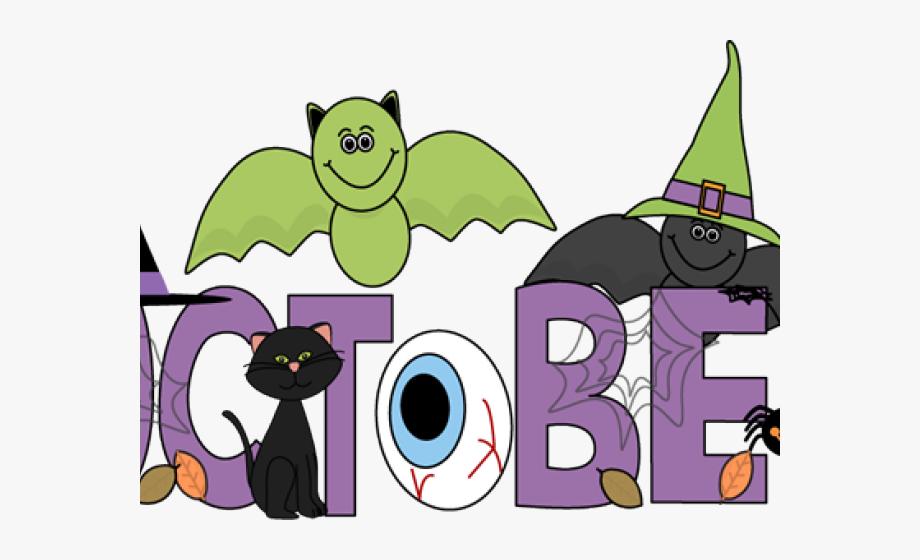 Halloween Clipart Clipart Month October.