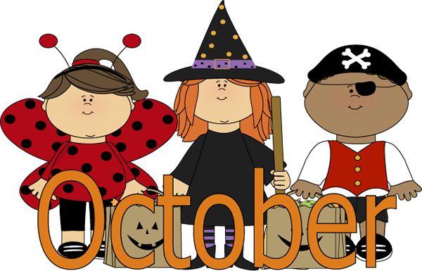 October Clipart & October Clip Art Images.