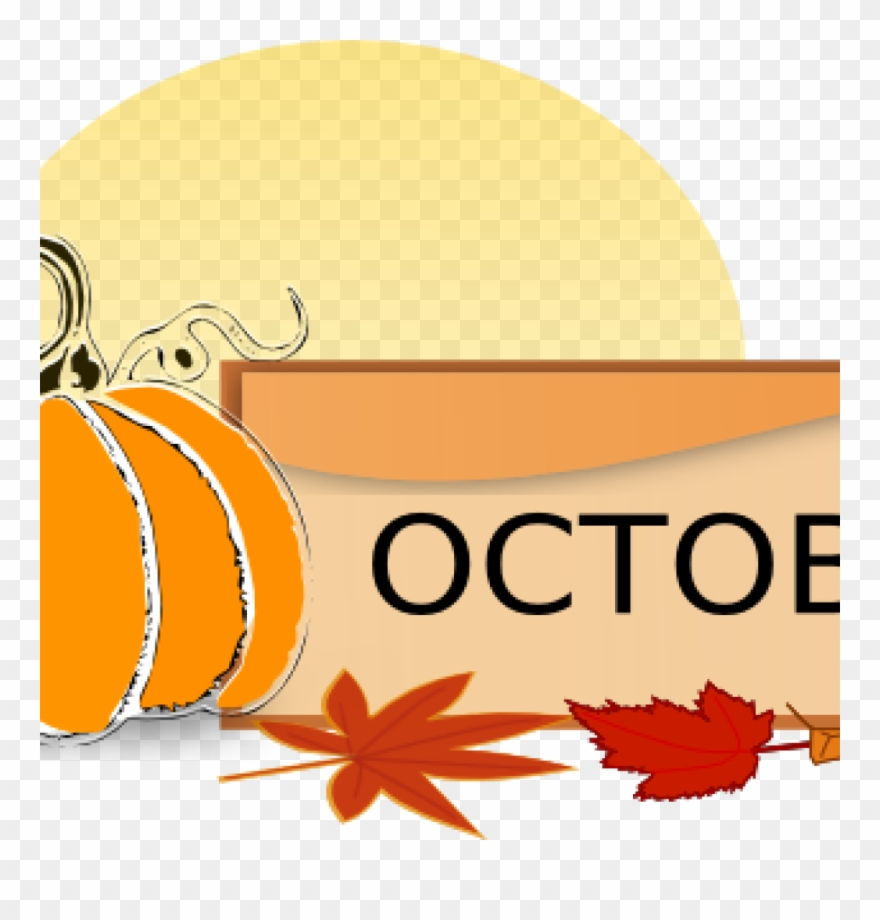 Clip Art For October October Clip Art At Clker Vector.