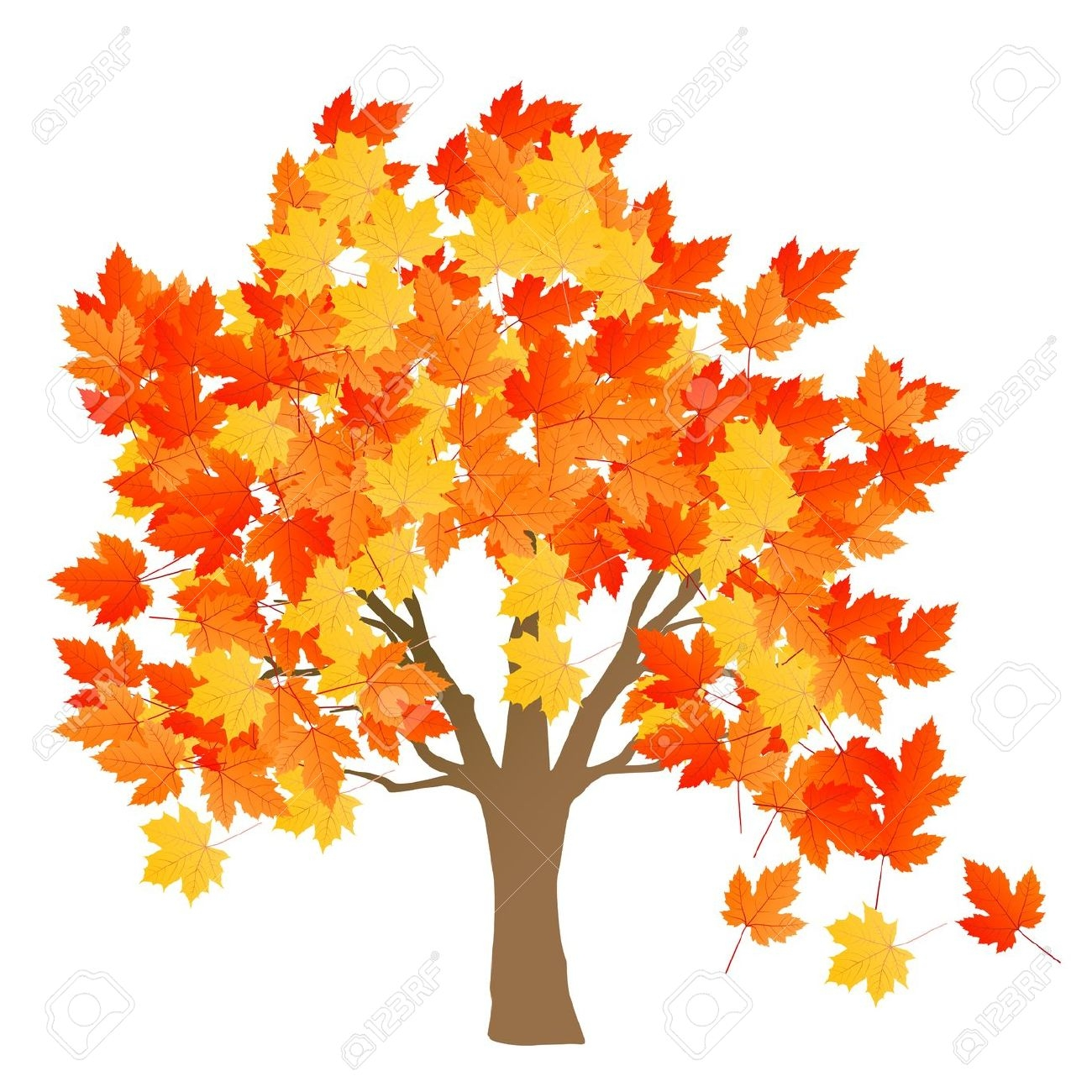 October clipart transparent background.