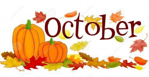 October Explorer Events Newsletter.