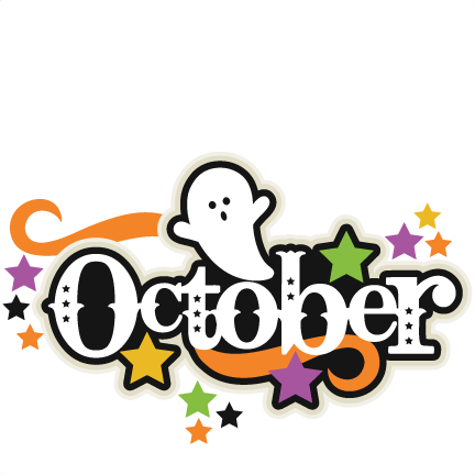 October Clipart Png.