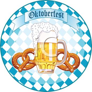 German Bavarian Oktoberfest Clipart.