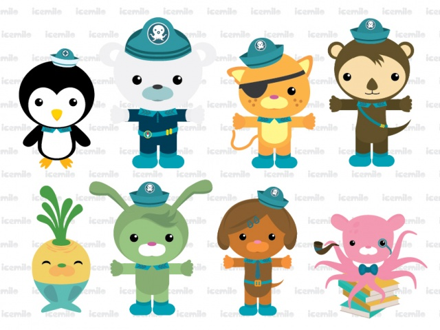 Octonauts clipart 2 » Clipart Station.