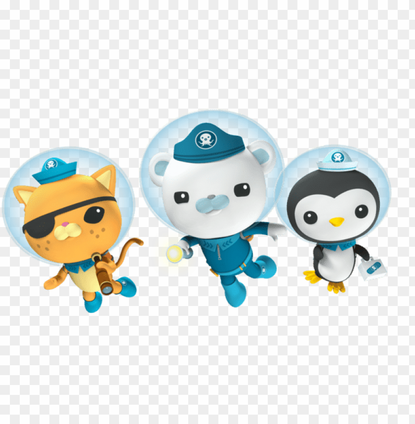 Download octonauts diving clipart png photo.