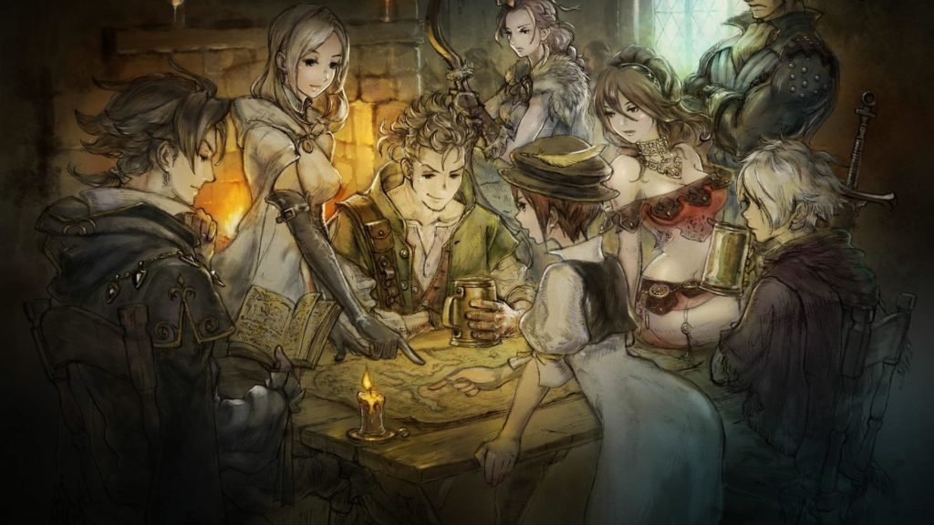 Octopath Traveler review.