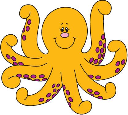 octopus clipart free.