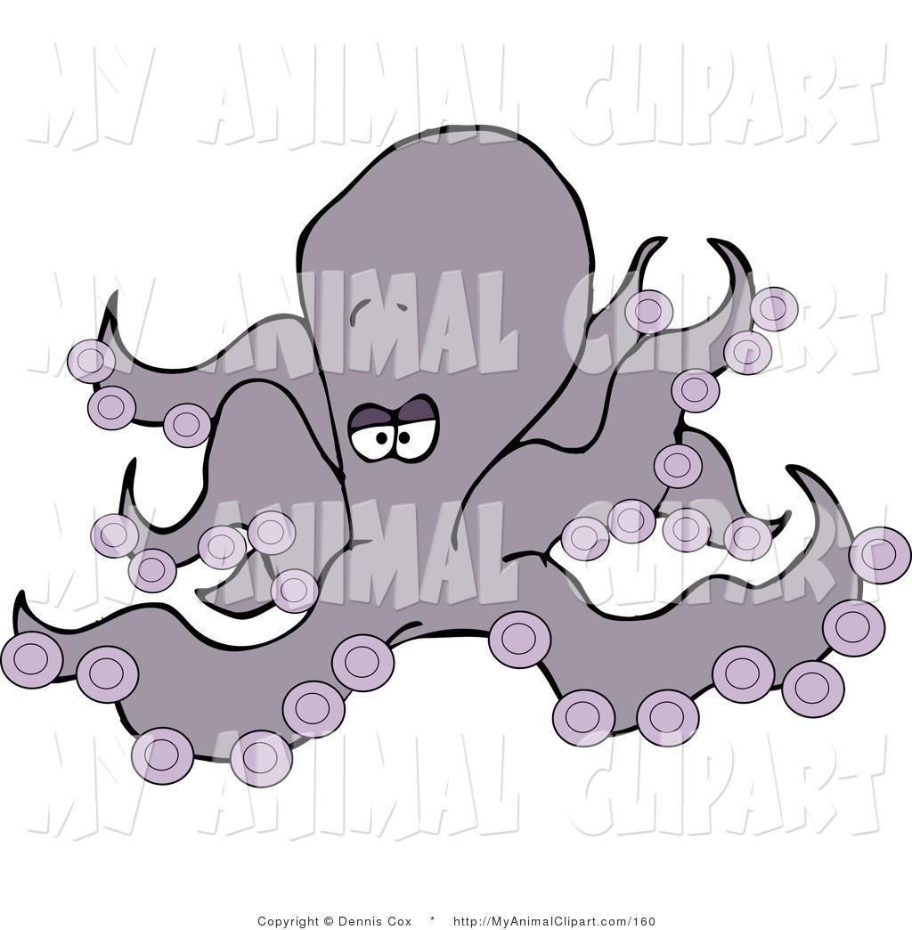 Royalty Free Octopod Stock Animal Designs.