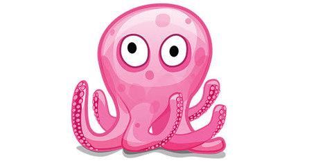 Octopus Clip Art, Vector Octopus.