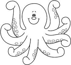 Free Octopus Clipart Black And White, Download Free Clip Art.