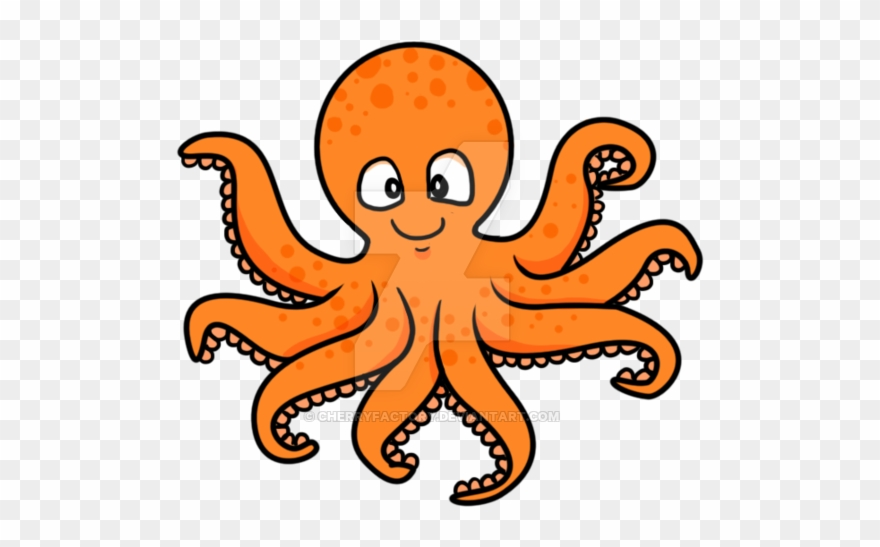 Octopus Cartoon Png & Free Octopus Cartoon.png Transparent.