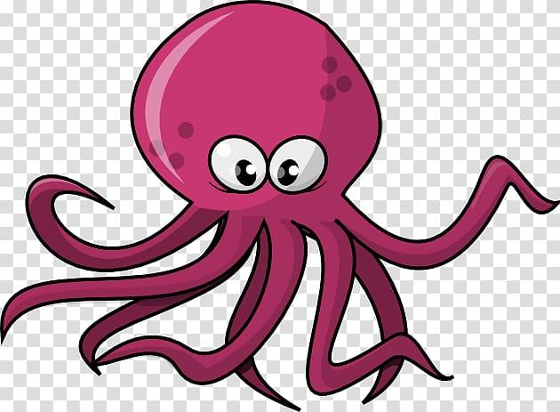 Pink octopus , Octopus , Cute Octopus File transparent.