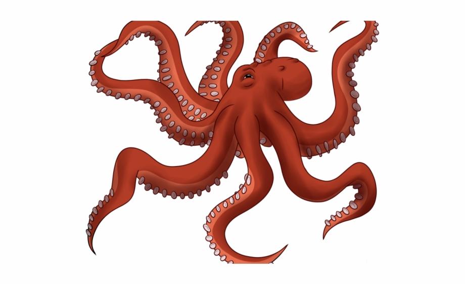 Octopus Clipart Transparent Background.