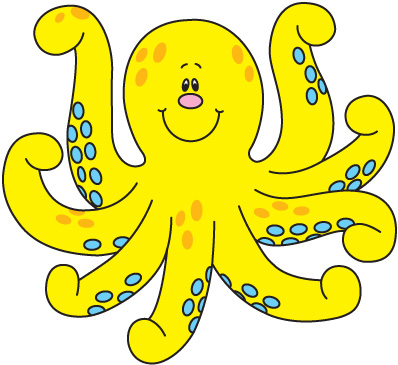 Free Octopus Clip Art Pictures.