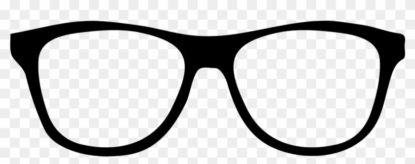 Sunglasses Outline Clip Art.
