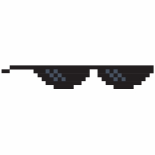Pixelated Sunglasses.