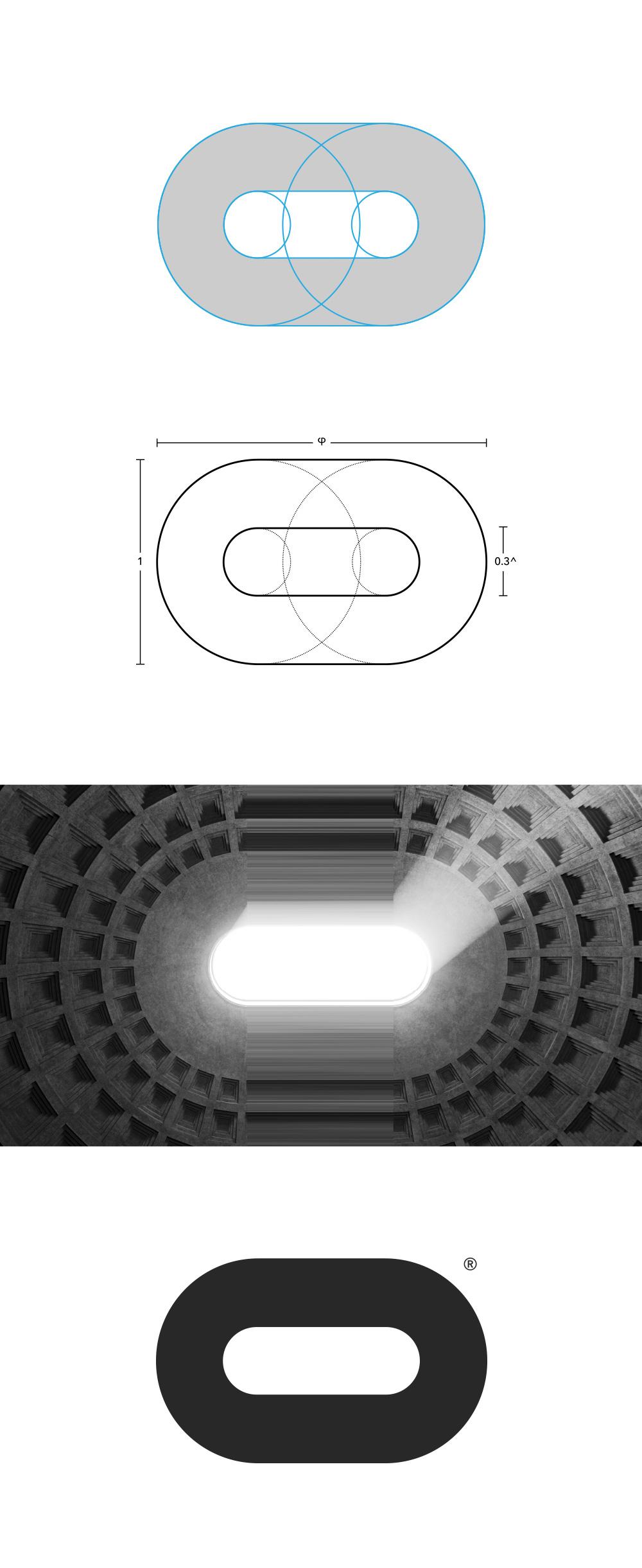 Brand New: New Logo for Oculus by Cory Schmitz, Mackey.