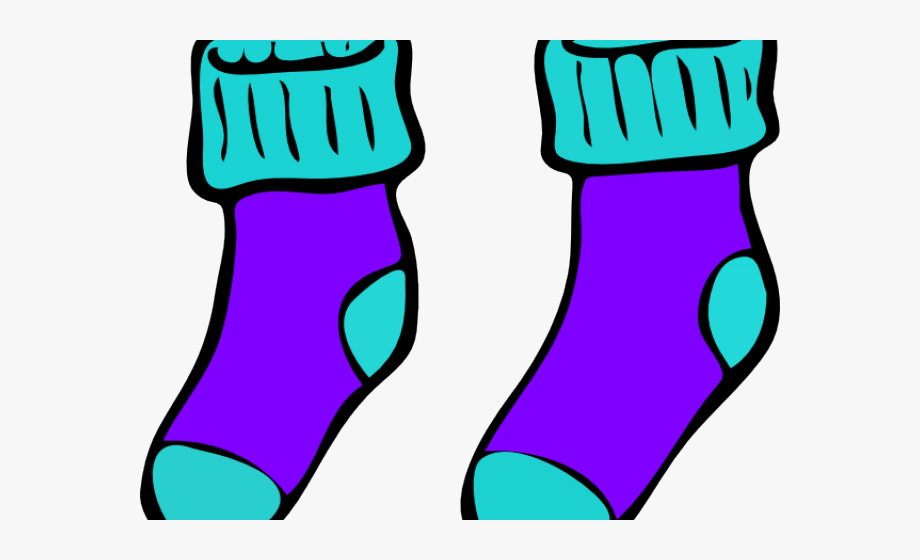 Pair Clipart Cute Sock.