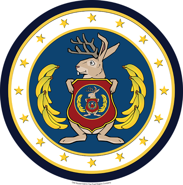 Official Odd Squad Seal Kids T.